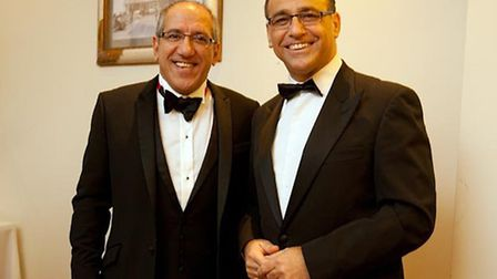 Kerry Michael and Theo Paphitis