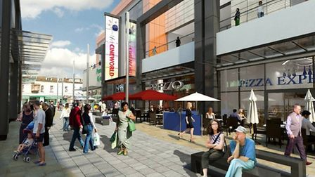 An artist's impression of what the site will look like once open.
