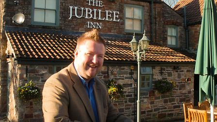 Marc Casey The Jubilee Inn, Flax Bourton.