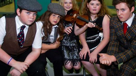 Dress rehearsal Bugsy Malone Nailsea School.
