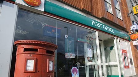 The Post Office in Regent Street was closed unexpectedly yesterday.