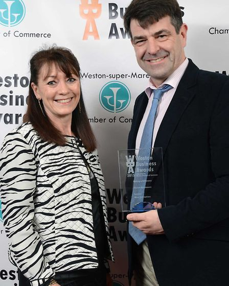 Rachel and John Bailey of Weston Hospicecare – Making a Difference