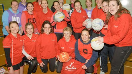 Clevedon School. Back to Netball sessions.