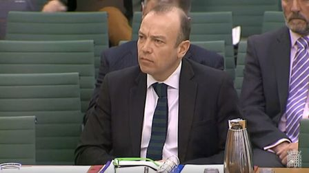 Brexit minister Chris Heaton-Harris. Photograph: House of Commons.
