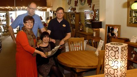 Orchards Somerset Square ,Nailsea celebrating 50 years, Robin Orchard, Keith Orchard, Sharon and Sa