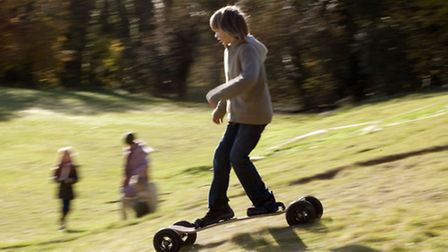 Mountainboarding is fun and can be done almost anywhere