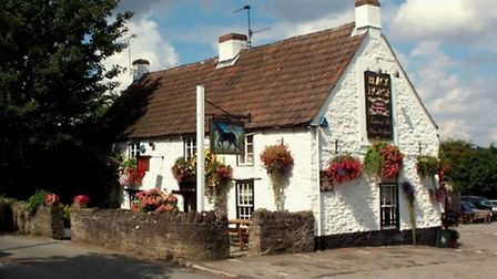The Black Horse at Clapton-in-Gordano