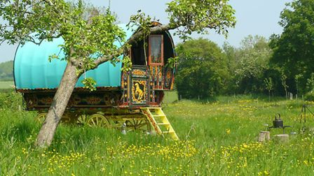 Escape to the Somerset countryside and go glamping.
