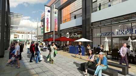 An artist's impression of what McLaren Life's Dolphin Square development will look like.
