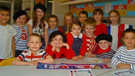 French day, Hannah More Infant School, Nailsea.