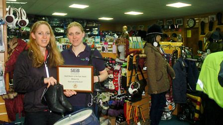 Equicraft shop owners Libby Holliday and Jane Atherton.