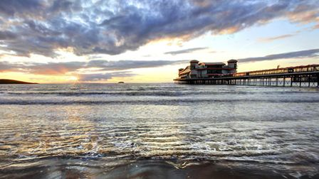 Clouds and a sunset at Weston Super-mare (Getty Images/iStockphoto)