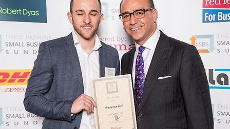 Theo Paphitis and David Thorne.