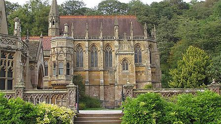 The Parisian Saint-Chapelle inspired Chapel at Tyntesfield © Michael Day, Flickr