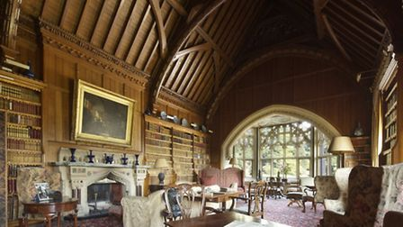 Room view of the Library at Tyntesfield, North Somerset. © National Trust Images/John Hammond