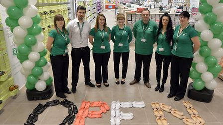 Deichmann Shoes, in the Sovereign Centre, is open for business.