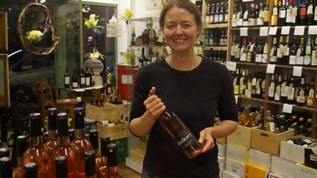 Ingrid Bates' (pictured) Dunleavy Vineyard is one of the businesses up for an award.