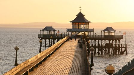 The Grade 1 listed Clevedon Pier. (Credit Pip A'Ness)