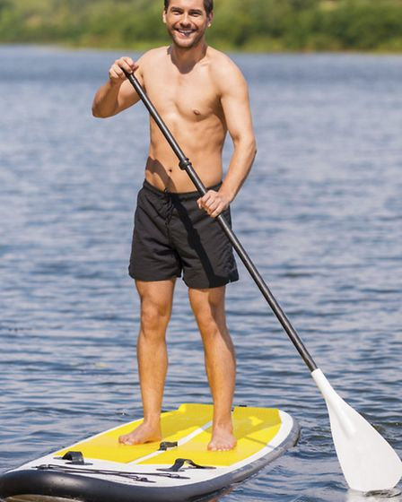 Why not try stand up paddleboarding?