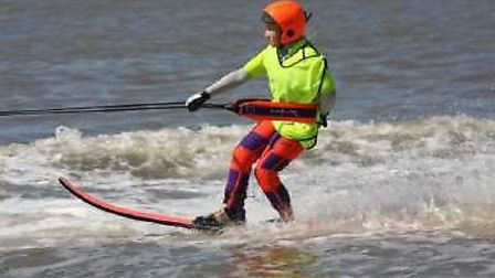 Learn to water ski with Weston Water Sports Club