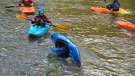 Learn to kayak with South Avon Canoe Club © Emma Snook
