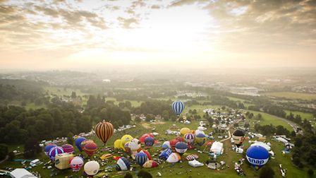 Ashton Court is home to the iconic Balloon Fiesta but is great for a walk all year round.