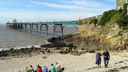Clevedon Pier provides a stunning view point. Photo submitted to iwitness by Simon James.
