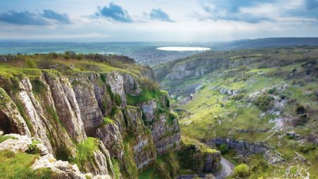 Cheddar Gorge (Picture: Cheddar Caves and Gorge).