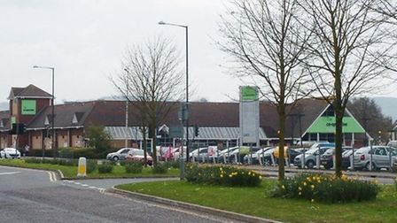 Portishead's former Co-Operative store which has been bought by Aldi