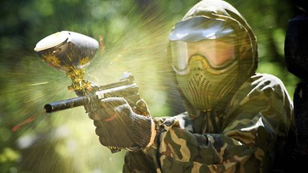 Paintballing is becoming a popular stag party activity (Getty Images/iStockphoto)