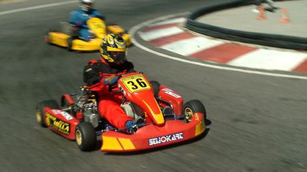 Get your stag group's adrenaline pumping with indoor karting. (Karting by Jose Pereira CC BY-SA 2.5)