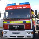 Fire crews attended the incident.