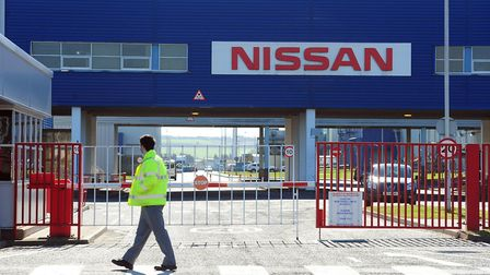 The Nissan Factory in Sunderland. Photograph: Owen Humphreys/PA Wire.