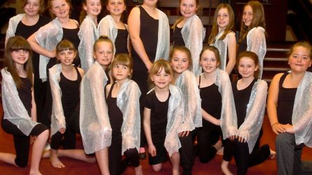 North Somerset Dance Festival at the Playhouse, Nailsea Kingshill School Themed Dance Shooting Star