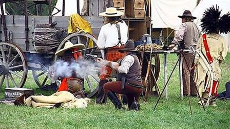 Court House Farm Reenactment Festival. (Somerset Re-enactment Festival 2015 by permission www.lovewe