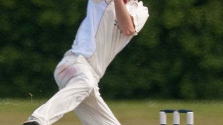 Charl Willoughby bowling for Weston.