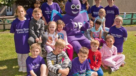 Pupils wearing pajamas and t-shirts to raise money for Penny Brohn.