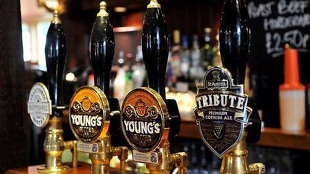 Have a drink at one of Weston's pubs while you wait for your roast dinner.