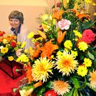 organiser Jen LankesterFlower festival at Holy Trinity Church in Cleeve. It is run by Clevedon Flowe