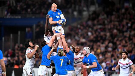 Sergio Parisse, one of rugby's greats and Italian rugby's greatest. Picture: AnthonyBIBARD/FEP/Panor