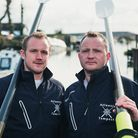 The Atlantic Tempest team: Tom Parker (left) and Nick McCulloch