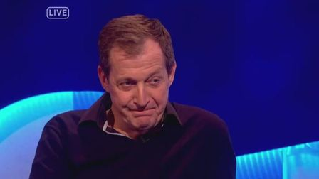 """Alastair Campbell called Nigel Farage a """"nicotine-stained man-frog"""" on Channel 4's The Last Leg. Pic"""