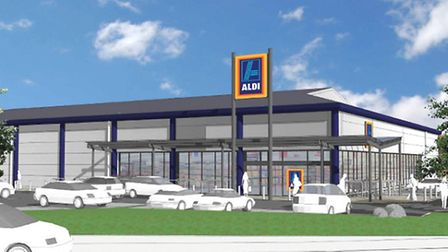 The new Aldi store in Clevedon is set to open next week.
