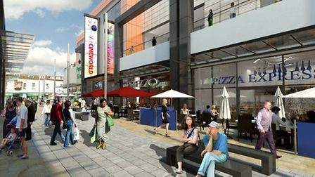 An artist's impression of the completed Dolphin Square development.