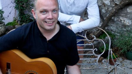 Nick Novotni and John Emery who have just released a new album.