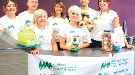 Staff at Robert John will be supporting Children's Hospice South West with a number of fundraisers o