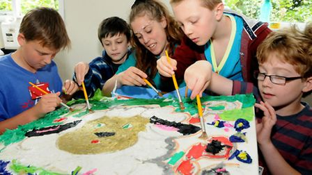 A holiday club was held in Backwell. Photo by Jeremy Long.