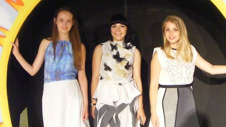 Gordano School held a design and fashion show.