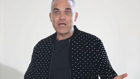 This week's top Brexiteer is none other than former pop star Robbie Williams. Picture: Mike Marsland