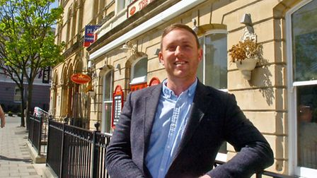 James Willis-Boden, owner of The Imperial in South Parade, Weston-super-Mare.
